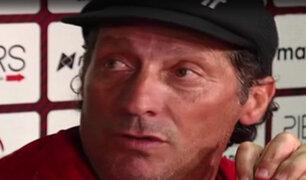 Pedro Troglio se despidió de Universitario de Deportes