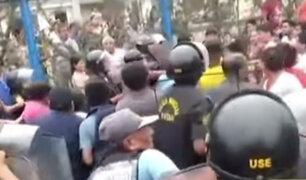 Vecinos y Municipalidad de El Agustino enfrentados por pista