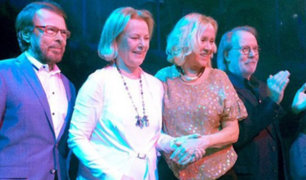Grupo sueco ABBA graba nuevas canciones por primera vez en 35 años