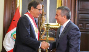 Raúl Pérez-Reyes juró como nuevo ministro de la Producción