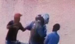 Piura: cámara capta violento asalto a comerciante