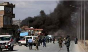Afganistán: ola de atentados en Kabul deja al menos cuarenta muertos