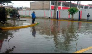 Surco: Sedapal atendió emergencia provocada por forado sin dar explicaciones