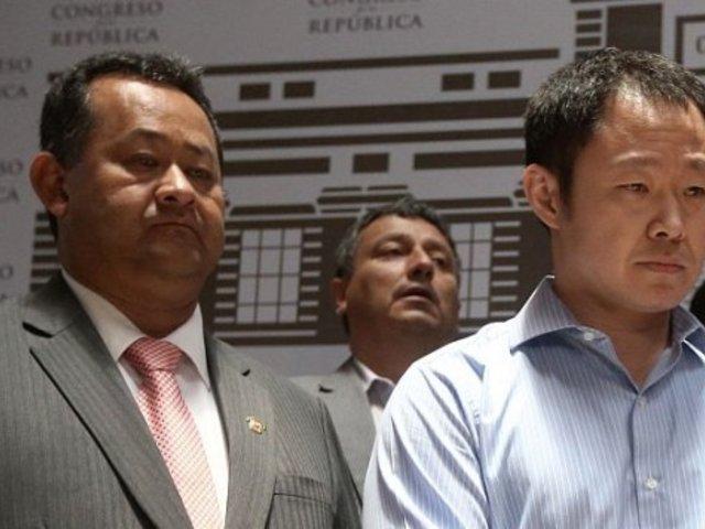 Congreso no logró los votos necesarios para desaforar a Kenji, Bocángel y Ramírez