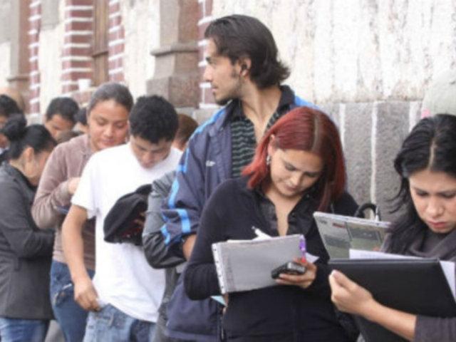 Aproximadamente 235 mil jóvenes perdieron su trabajo formal en el último trimestre