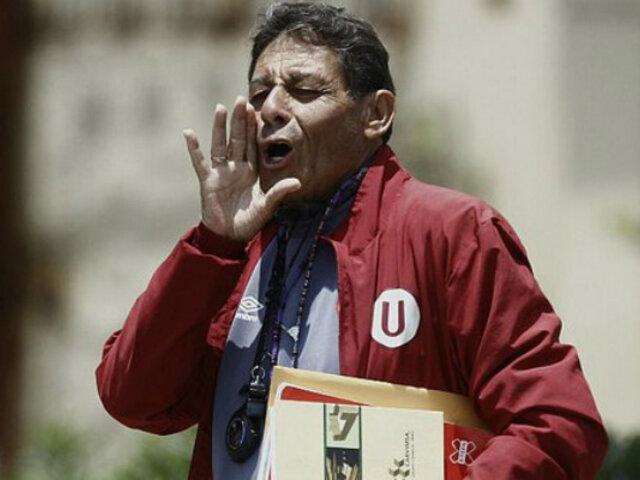 Roberto Chale se muestra dispuesto a dirigir a Universitario de Deportes