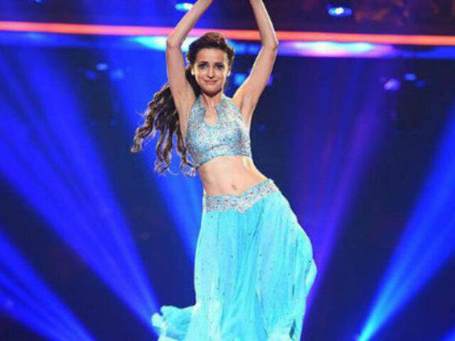 Sanaya Irani demostró así su habilidad para el baile en un reality de talentos [VIDEOS]