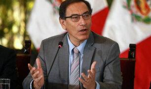 Presidente Martín Vizcarra niega alianza con Fuerza Popular