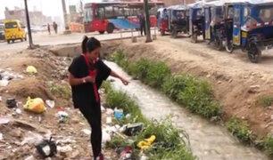 Carabayllo: vecinos de San Pedro viven entre polvo y basura