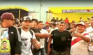 La Victoria: hinchas se enfrentaron a la policía en el Mundialito de El Porvenir