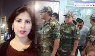 Hospital Almenara: policías donaron sangre a favor de Eyvi Ágreda