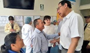 Presidente Vizcarra ofreció apoyo a familiares de Eyvi Ágreda