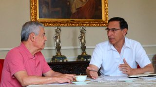 Vizcarra y Villanueva ultiman detalles sobre presentación del Gabinete