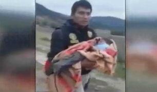 Ayacucho: padre abandonó a su hijo de 2 años por no pagar pensión de alimentos