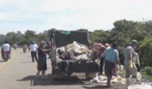 Puerto Maldonado: pobladores se unen para limpiar la vía Interoceánica