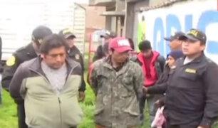 Huancayo: vecinos capturan a miembros de banda delictiva e intentan lincharlos