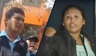 Ambulante denuncia agresión de fiscalizadores en Miraflores