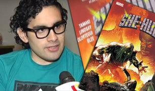 Joven dibujante peruano trabaja para la editorial de cómics Marvel