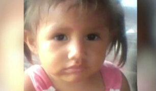Niña de 2 años desaparece en Satipo y padres la buscan desesperados