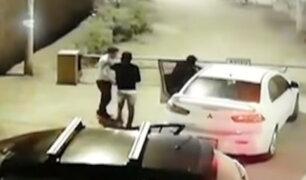 Lurín: empresario es atacado por delincuentes armados para arrebatarle su auto
