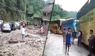 Chanchamayo: lluvias y deslizamientos de tierra provocan cierre de la Carretera Central