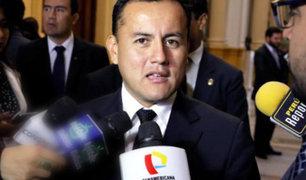 Congreso: admiten pedido de levantamiento de inmunidad parlamentaria a Richard Acuña