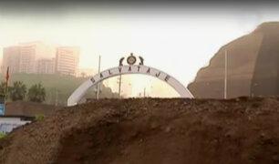 Barranco: contaminan playa durante construcción de muro en Unidad de Salvataje