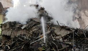 Brasil: derrumbe de edificio deja 49 personas desaparecidas