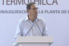 Presidente Vizcarra: Gobierno brinda condiciones para que inversión privada crezca