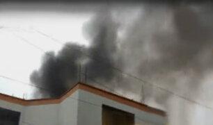 Incendio en Surquillo: policía confirma muerte de una mujer