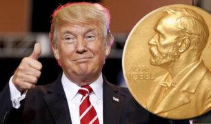 Donald Trump es propuesto formalmente para premio Nobel de la Paz