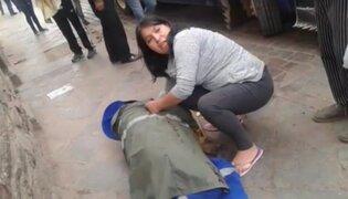 Cusco: muere trabajadora de limpieza en accidente con tren