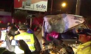 Un muerto y 12 heridos deja choque entre minivan y tráiler en Asia