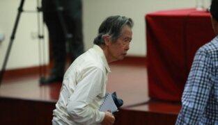 TC rechaza hábeas corpus a favor de expresidente Alberto Fujimori