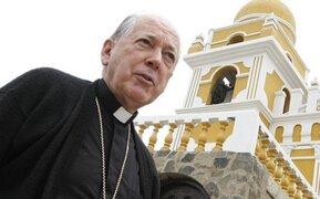 """Cardenal Cipriani: """"La Marcha por la vida no es un tema político"""""""