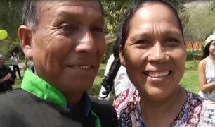 Dos hermanos se reencuentran luego de 40 años de no verse