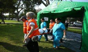 Miraflores: instalarán hospitales en parques ante eventual sismo