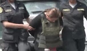 Desbaratan banda liderada por una mujer que se dedicada al robo de vehículos