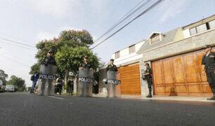 Fiscalía incauta inmuebles del ex presidente Humala y Nadine Heredia