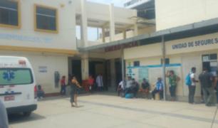 Chiclayo: nace bebé en condiciones inadecuadas en hospital Las Mercedes
