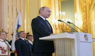Vladimir Putin asume su cuarto mandato en Rusia