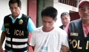 Tingo María: policía capturó a sujeto que violó a su sobrina de 3 años