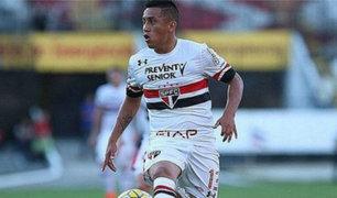 Christian Cueva tendrá oportunidad para ser titular en Sao Paulo