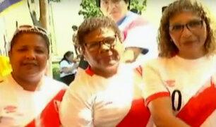 Madres de jugadores de la selección demostraron su talento para el baile