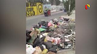 Basura se apodera de las calles de Lurigancho-Chosica