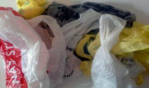 Congreso aprobó ley para regular uso de plásticos en el Perú