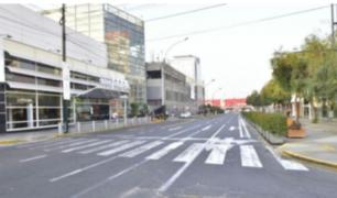 MML informa que obras en Las Begonias no cuentan con autorización municipal