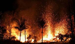 Hawai: la expulsión de lava del volcán Kilauea podría durar meses