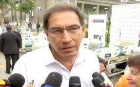 Presidente Vizcarra pide a jueces profesionalismo en sus decisiones