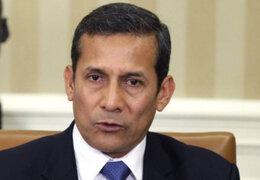 Expresidente Ollanta Humala se presentó ante comisión Madre Mía del Congreso